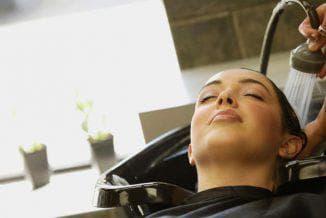 пилинг волосистой части головы