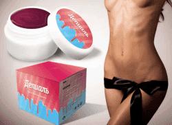 смягчение кожи после шугаринга зоны бикини
