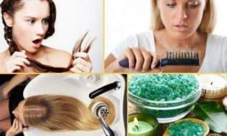 скраб для волос дома
