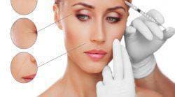 процедура уколов в лицо