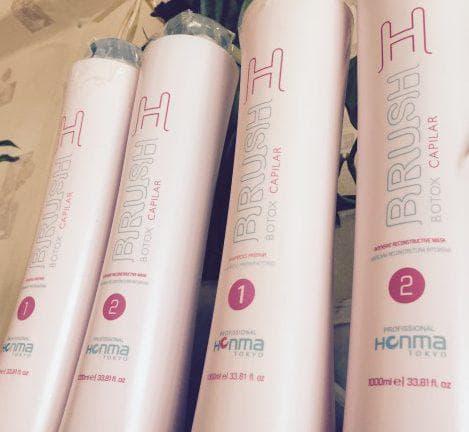 средства для ботокса для волос H-BRUSH от Honma Tokyo