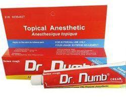 обезболивающий крем для эпиляции DrNumb