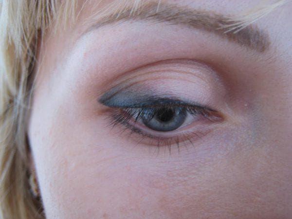 перманент глаз с растушевкой