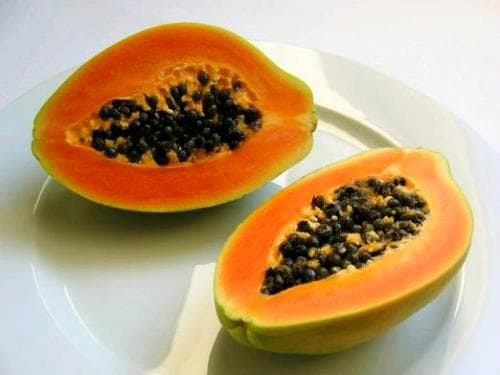 плоды папайи для пилинга