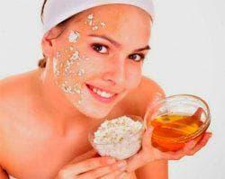 пшеничная маска для лица