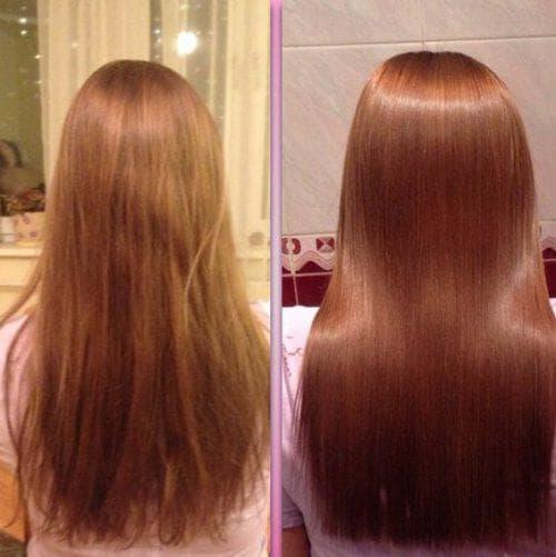 кератиновый лифтинг для волос