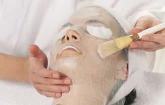 жидкий парафин в виде маски