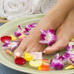 Как делать пилинг для кожи ног