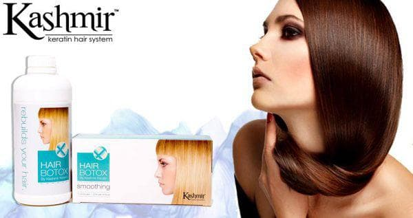 средства для ботокса для волос Hair Botox от Kashmir Keratin Hair System