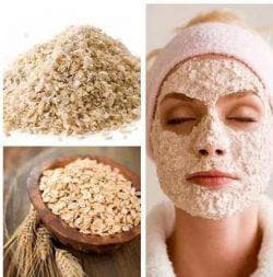 маска на основе муки из пшеницы
