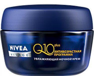 ночной лифтинг-крем Nivea Q10 Plus